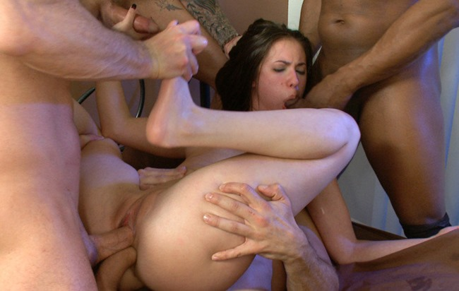 rough gangbang